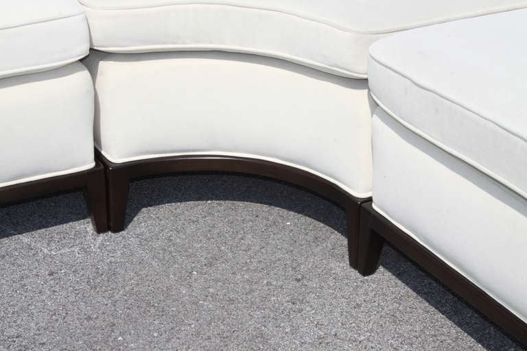 T. H. Robsjohn-Gibbings for Widdicomb Sectional In Good Condition In St. Louis, MO