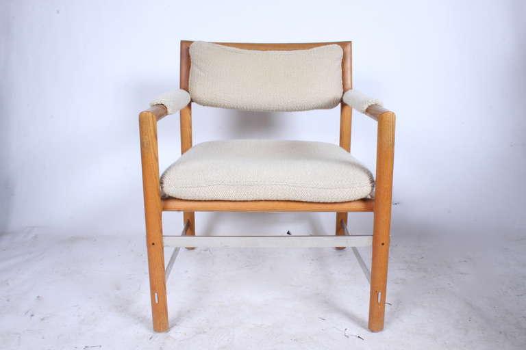 Mid-Century Modern 1970s Edward Wormley for Dunbar Armchair For Sale