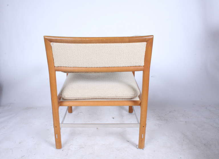 1970s Edward Wormley for Dunbar Armchair In Good Condition For Sale In St. Louis, MO