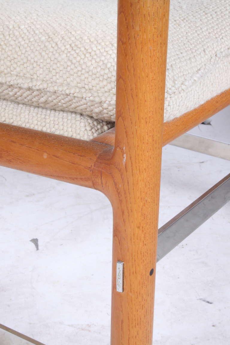 Upholstery 1970s Edward Wormley for Dunbar Armchair For Sale