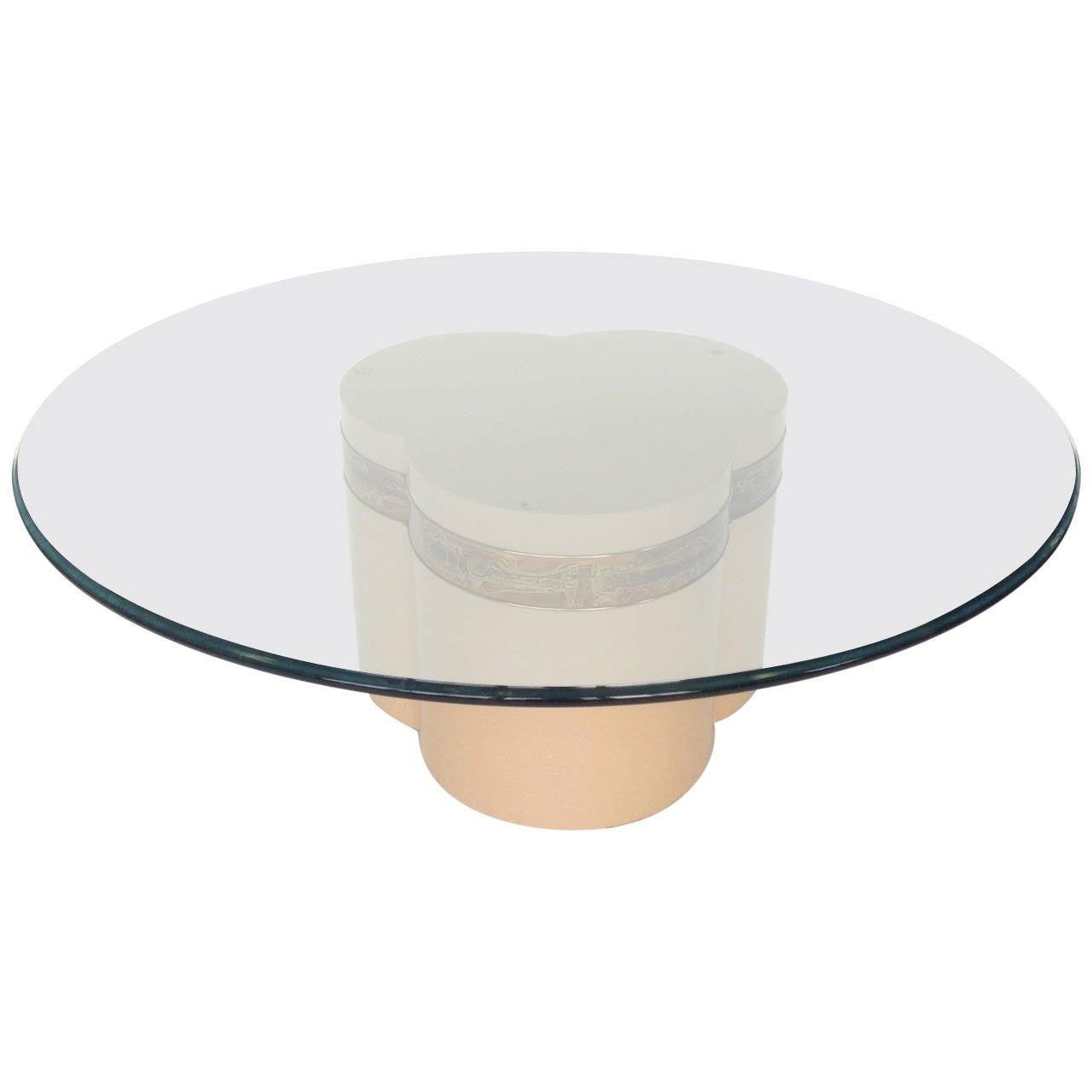 Mastercraft Coffee Table Designed by Bernard Rohne