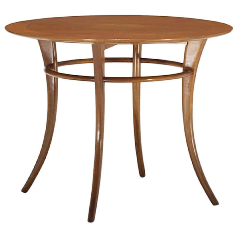 klismos table ~ t h robsjohngibbings round side table with klismos legs