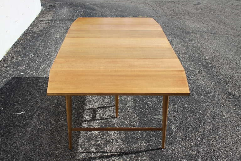 McCobb Drop-Leaf Dining Table with Three Leaves 9