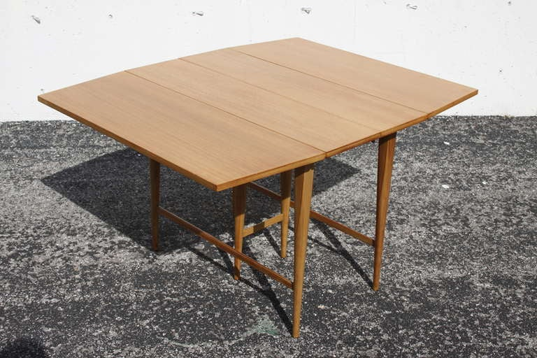 McCobb Drop-Leaf Dining Table with Three Leaves 2