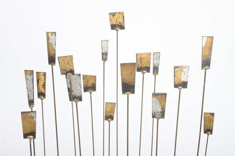 Mid-20th Century Kinetic Mid-Century Floor Sculpture by New York Artist William Bowie For Sale