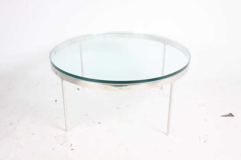 Nicos Zographos Coffee Tables 'One Marble or One Glass Top' 2