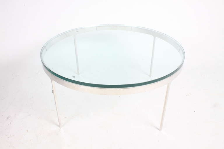 Nicos Zographos Coffee Tables 'One Marble or One Glass Top' 7