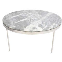 Nicos Zographos Coffee tables (one marble/ one glass top)