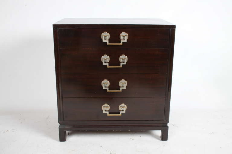 Mid-Century Modern Pair of 1940s Chests For Sale
