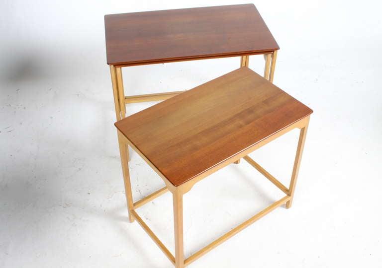 Edward Wormley for Dunbar Nesting Tables For Sale 2