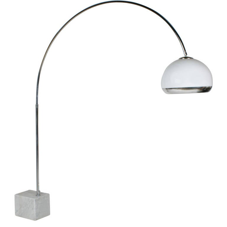 Guzzini Arc Floor Lamp At 1stdibs