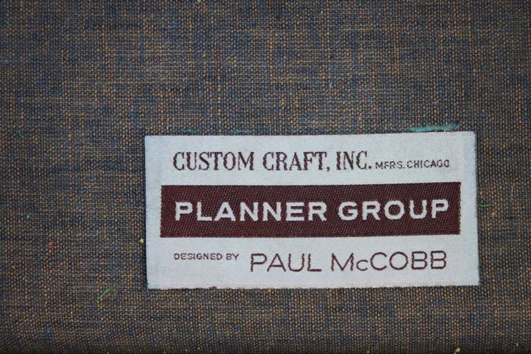 Mid-20th Century Paul McCobb Planner Group Sofa For Sale