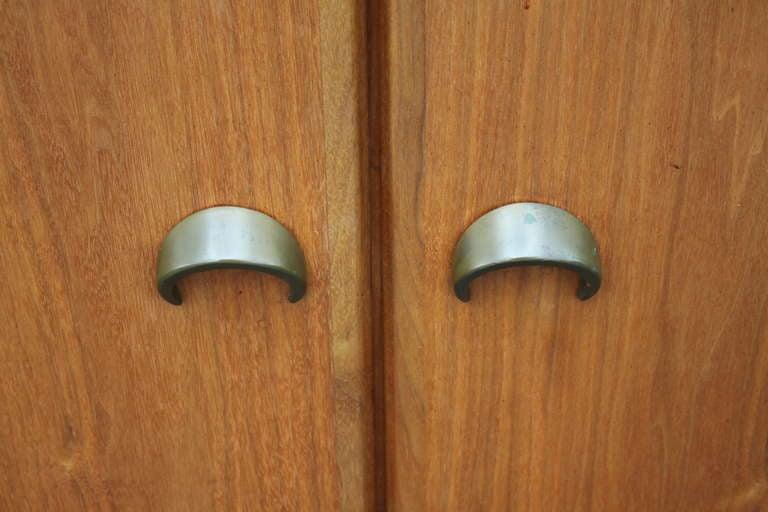 Wood Jens Risom Bar Cabinet For Sale
