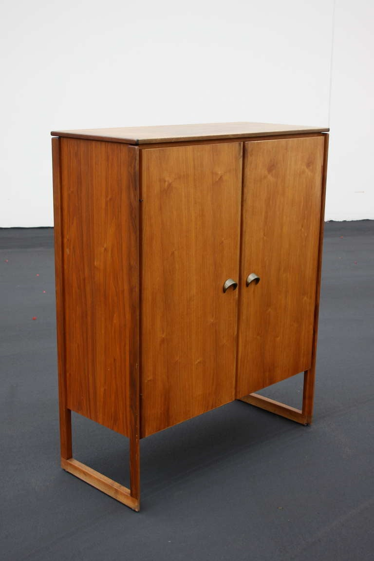 Mid-20th Century Jens Risom Bar Cabinet For Sale