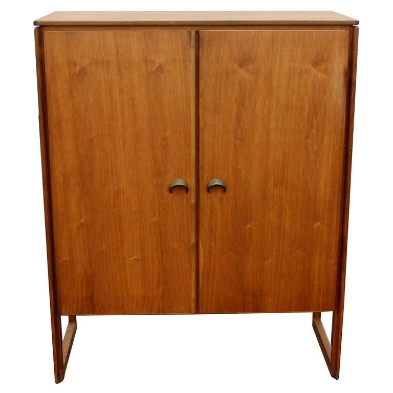 Jens Risom Bar Cabinet For Sale