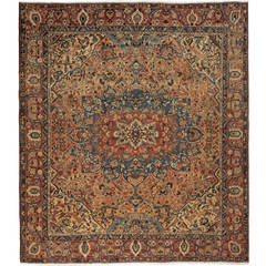 Oversize Antique Bakhtiari Carpet