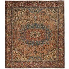 Oversize Antique Bakhtiari Carpet