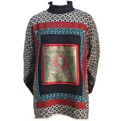1994 JEAN PAUL GAULTIER 'le grande voyage' runway sweater.