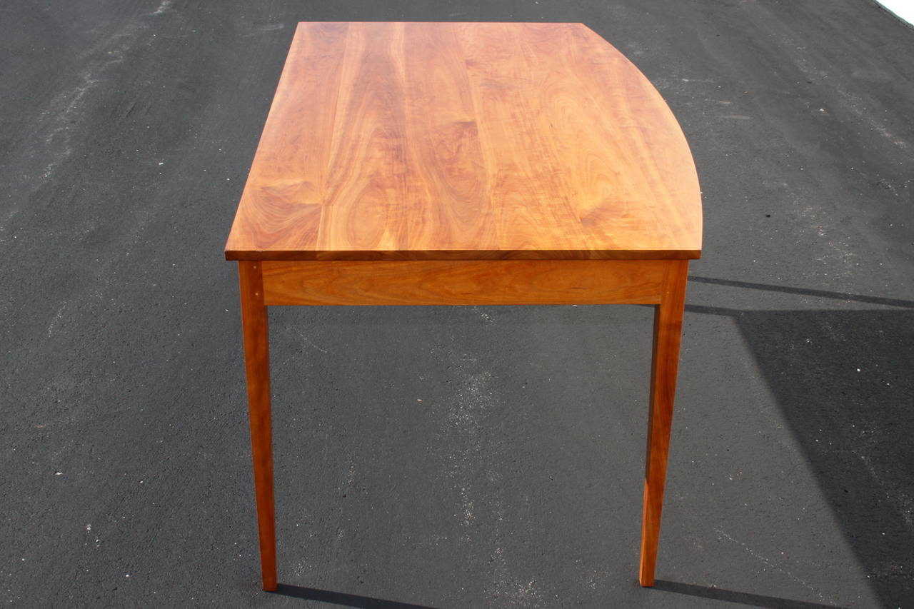 Custom Thos Moser Desk Dated 2009 Signed Paul M Blank At 1stdibs