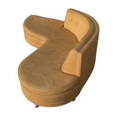 Harvey Probber Mid-Century organic shaped sofa