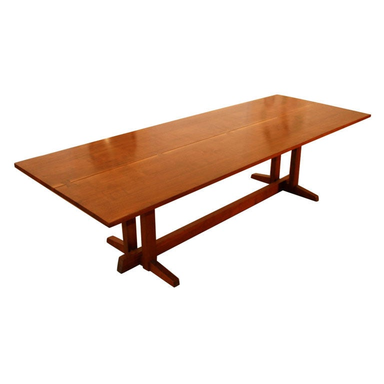 Rare 9 Ft George Nakashima Frenchman 39 S Cove Dining Table