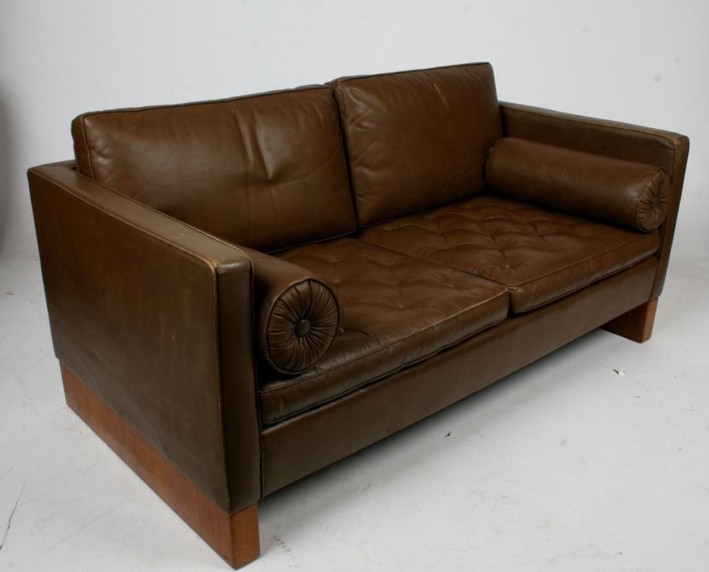 mies van der rohe sofa for knoll at 1stdibs