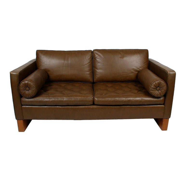 mies van der rohe sofa for knoll at 1stdibs. Black Bedroom Furniture Sets. Home Design Ideas