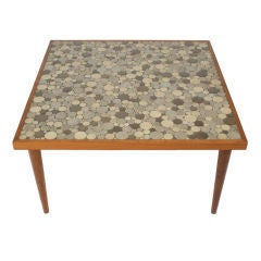 Gordon Martz Tile Top Square Table