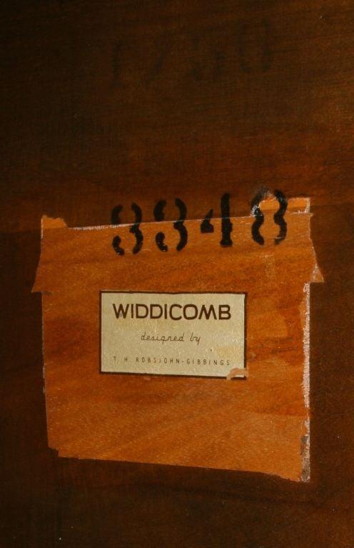 Mid-20th Century T. H. Robsjohn Gibbings for Widdicomb Table For Sale