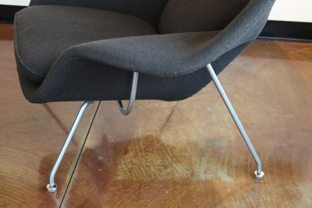 this eero saarinen for knoll womb chair and ottoman is no longer