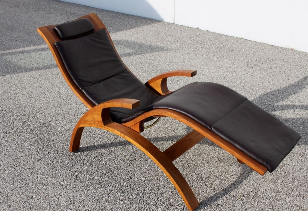 Thomas Moser Chaise Lounge At 1stdibs