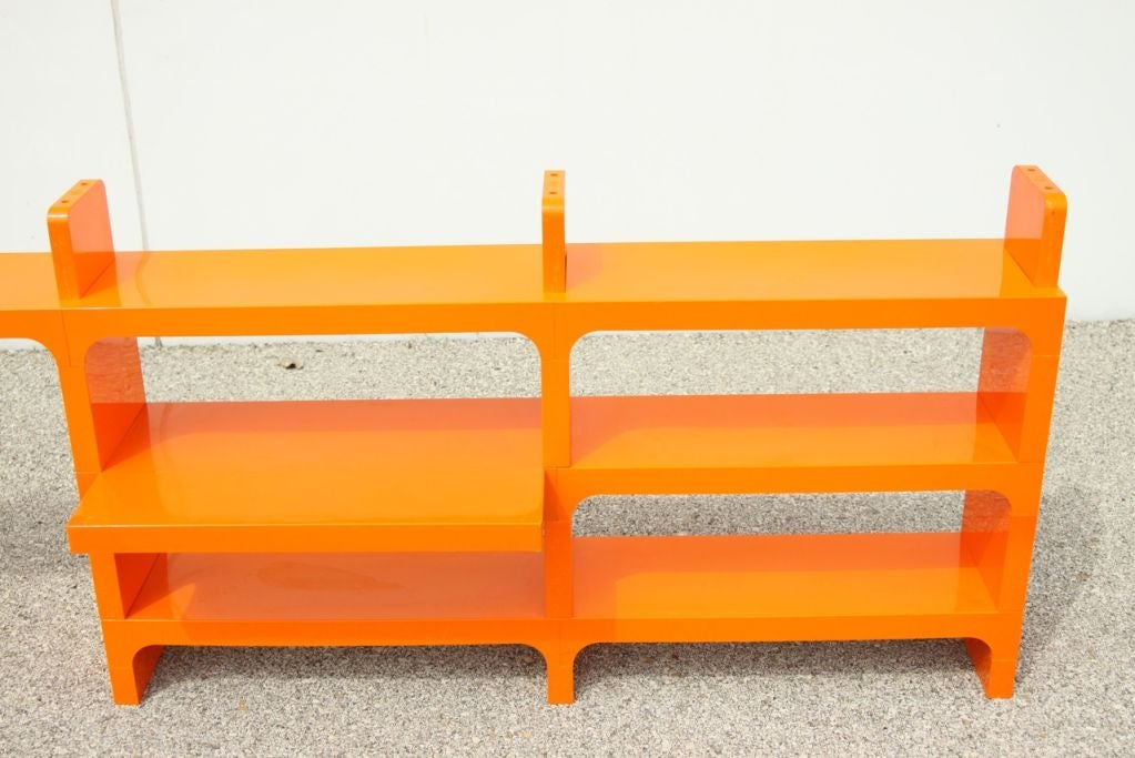 Kartell Modular book shelf by Olfa Von Bohr at 1stdibs