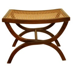Edward Wormley cane top bench