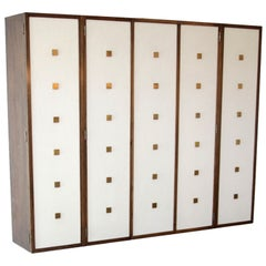 Bert England for Johnson Furniture Forward Trend Wall Mounted Cabinet
