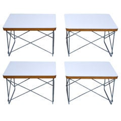 Pair of Charles Eames for Herman Miller LTR Tables