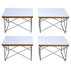 Pair of Charles Eames for Herman Miller LTR Tables