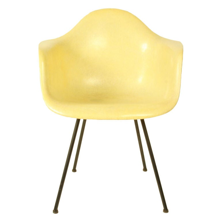 Eames Zenith Shell Armchair At 1stdibs