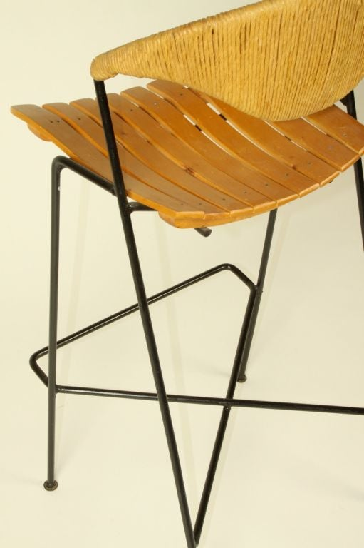 Arthur Umanoff  bar stools (3total available) 3