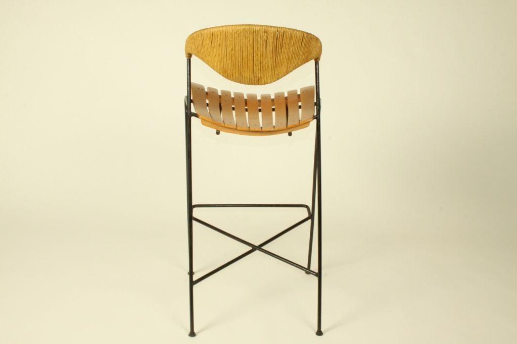 Arthur Umanoff  bar stools (3total available) 4