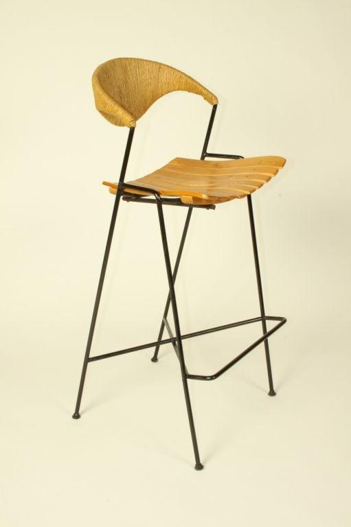 Arthur Umanoff  bar stools (3total available) 5