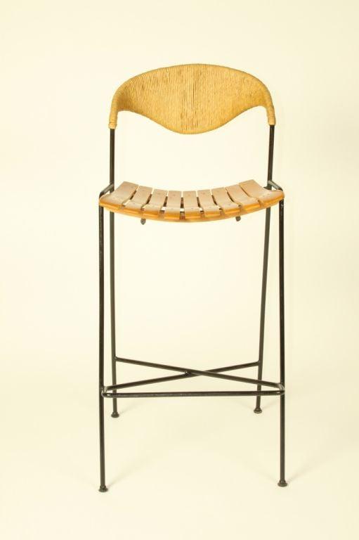 Arthur Umanoff  bar stools (3total available) 7