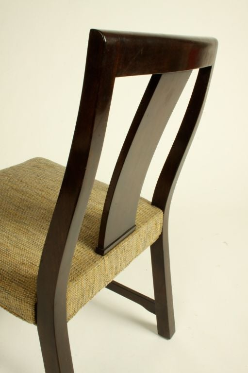 Edward Wormley for Dunbar Set of Eight Dining Chairs 10