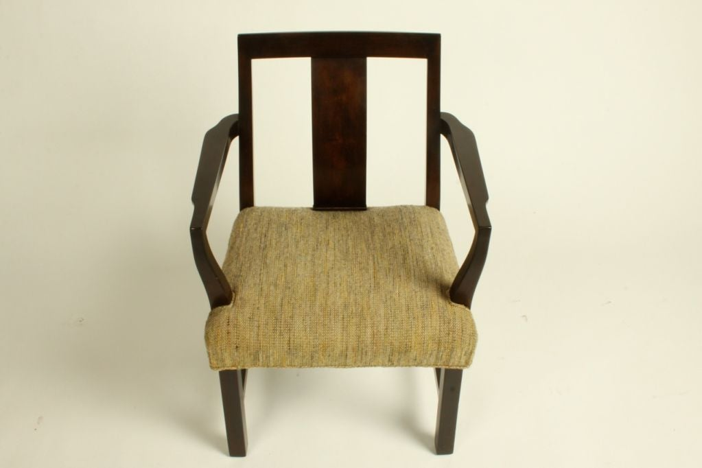 Edward Wormley for Dunbar Set of Eight Dining Chairs 2