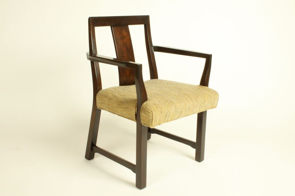 Edward Wormley for Dunbar Set of Eight Dining Chairs 3