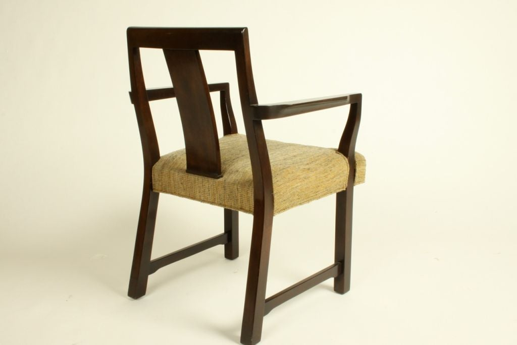 Edward Wormley for Dunbar Set of Eight Dining Chairs 4