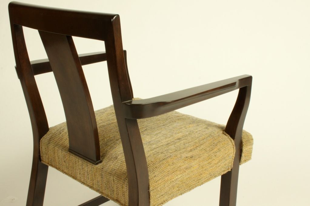 Edward Wormley for Dunbar Set of Eight Dining Chairs 6