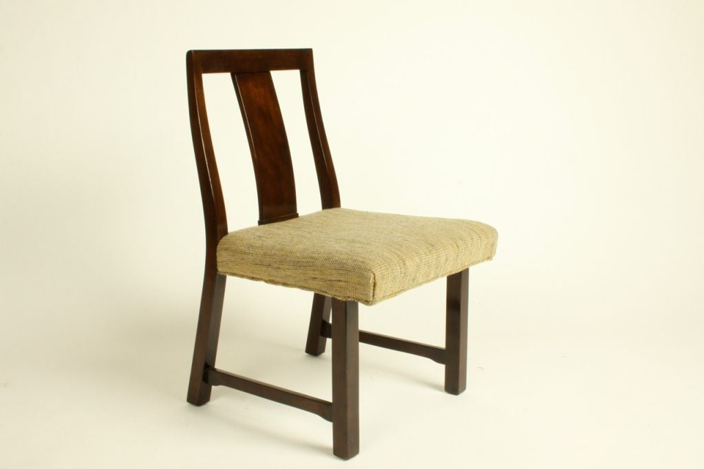 Edward Wormley for Dunbar Set of Eight Dining Chairs 7
