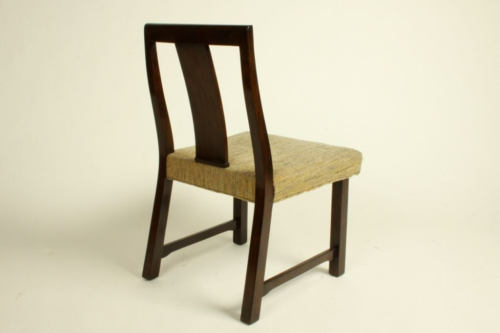 Edward Wormley for Dunbar Set of Eight Dining Chairs 9