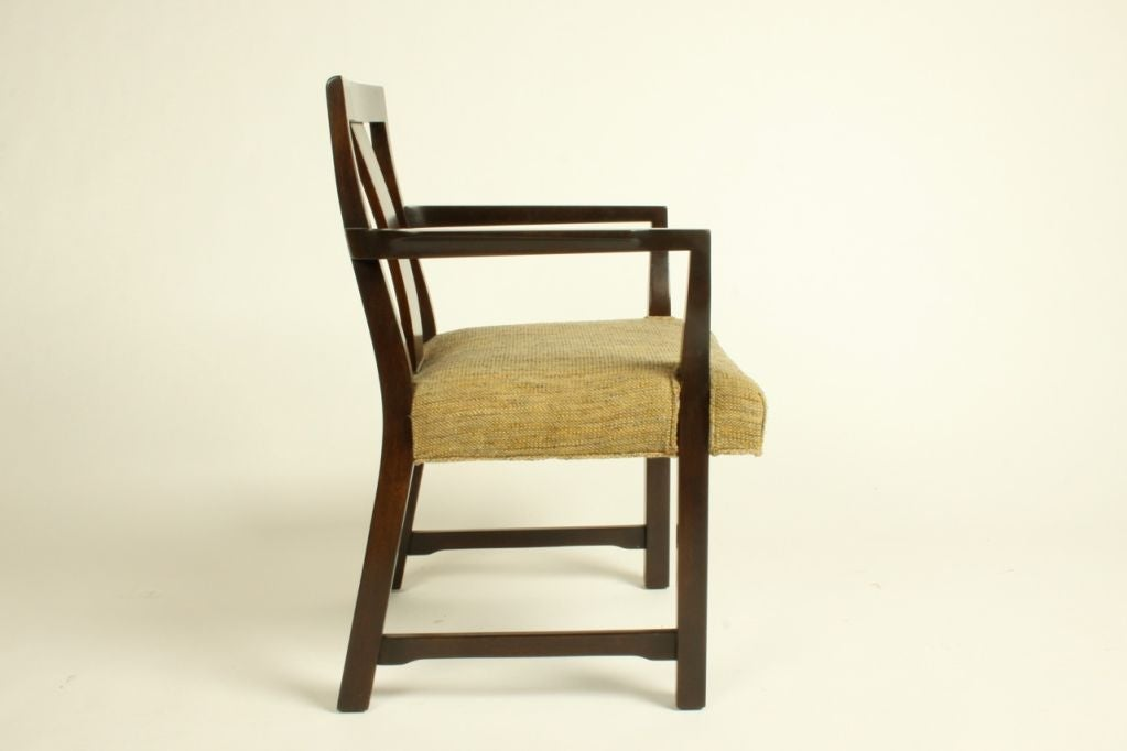 Edward Wormley for Dunbar Set of Eight Dining Chairs 5