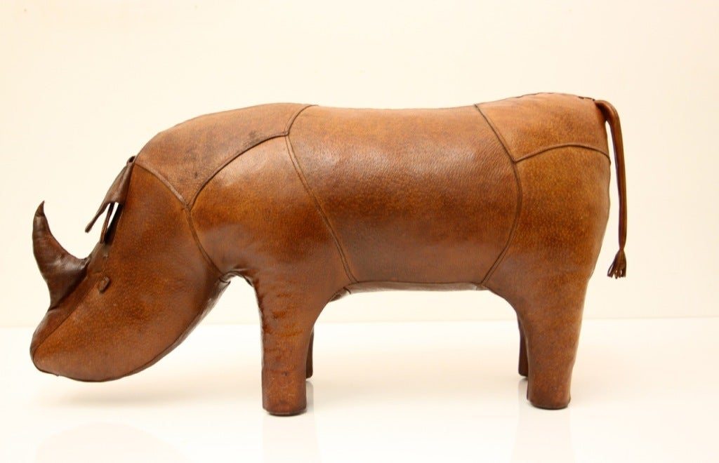Omersa Leather Rhino ottoman retailed by Abercrombie & Fitch image 2